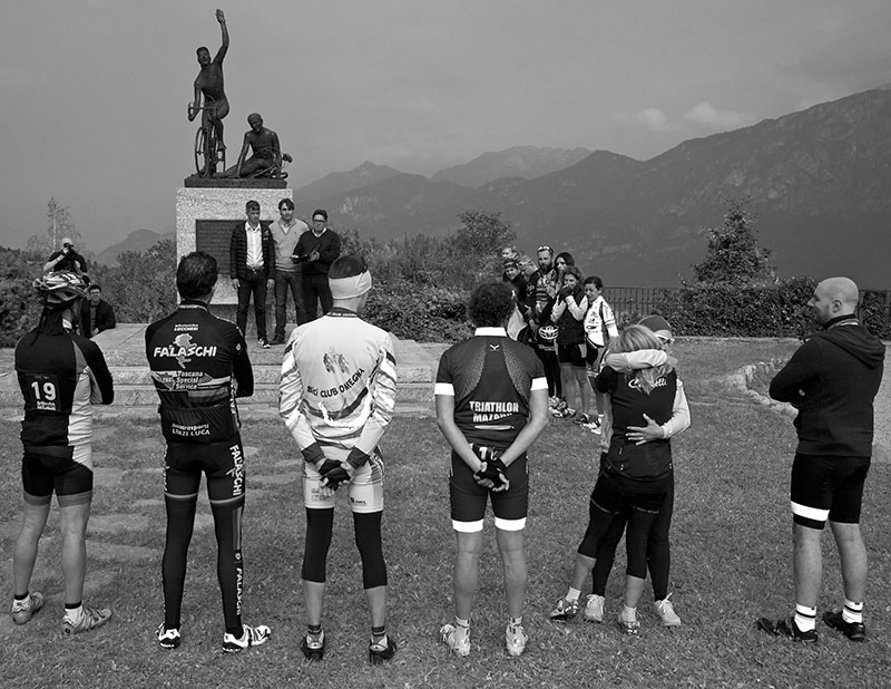 Club Awards at the Ghisallo Pass